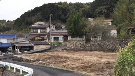 飯塚市勢田木造解体工事の施工後イメージ