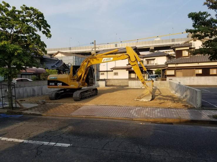 スタンド解体工事の施工後イメージ