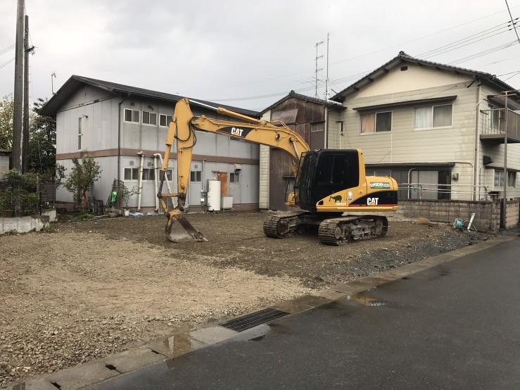 苅田町Y荘解体工事の施工後イメージ
