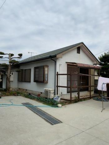 和歌山市内で外壁塗装してきました! before画像