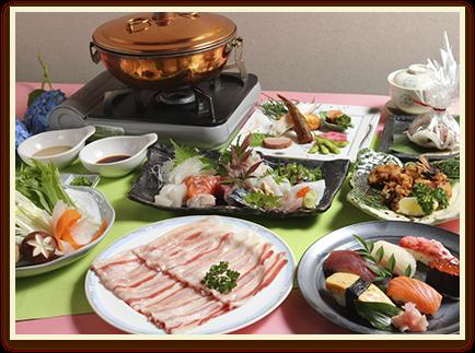 茨城県産ローズポーク 豚しゃぶしゃぶコース