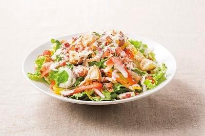 たっぷり野菜のシーザーサラダ
