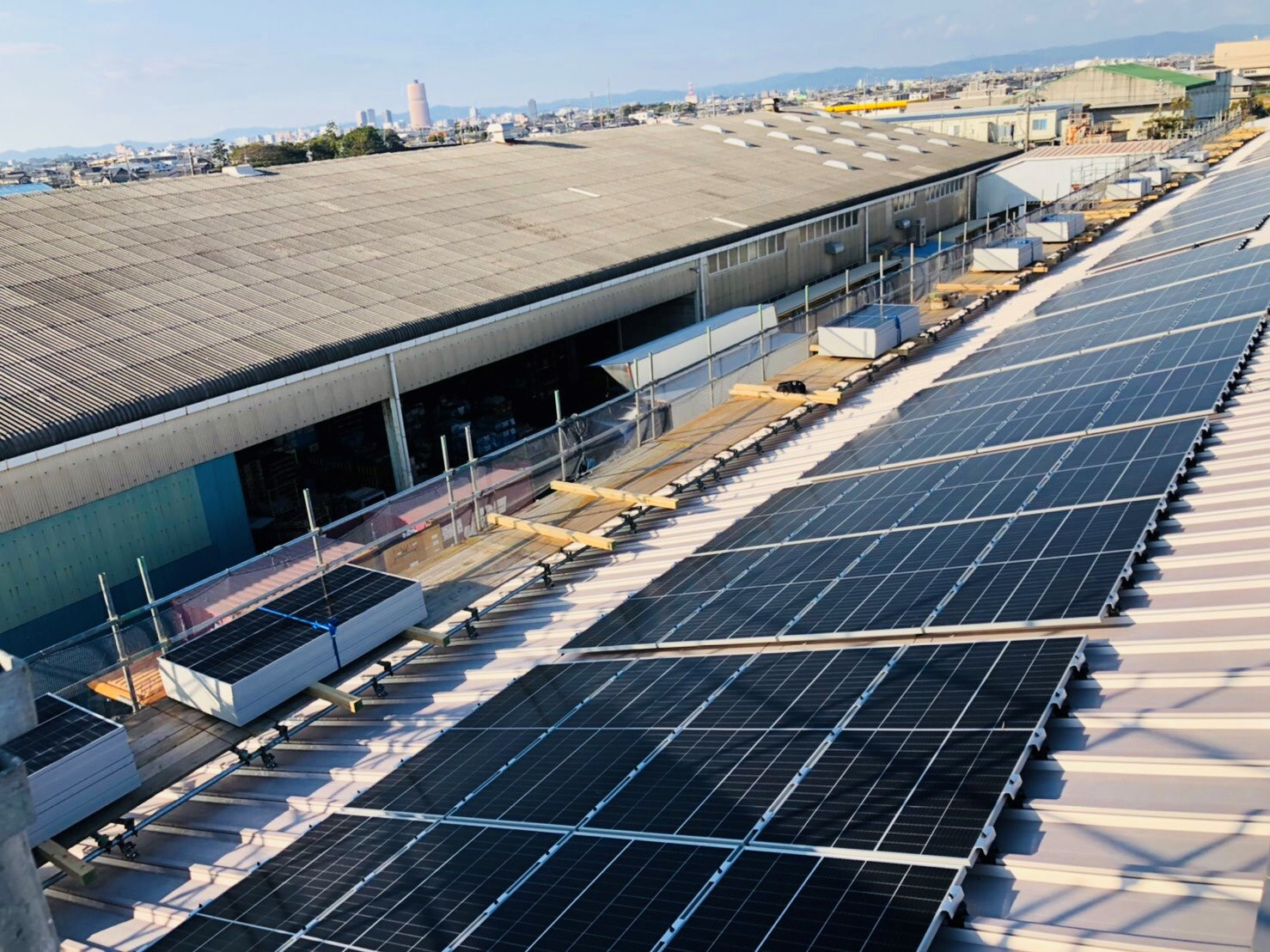 太陽光システム導入工事 イメージ画像