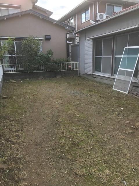 浜松市中区和合町「中谷様 借家」除草作業