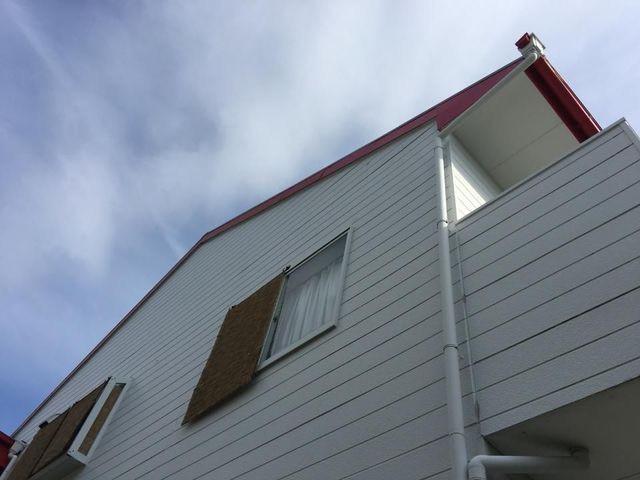 浜松市南区若林街「メゾンロッキーⅡ」破風板張替工事