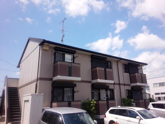 浜松市東区篠ヶ瀬町「ドミールシャンティ 102号室」室内清掃         退去時のクリーニングはMAXメディエイトへ