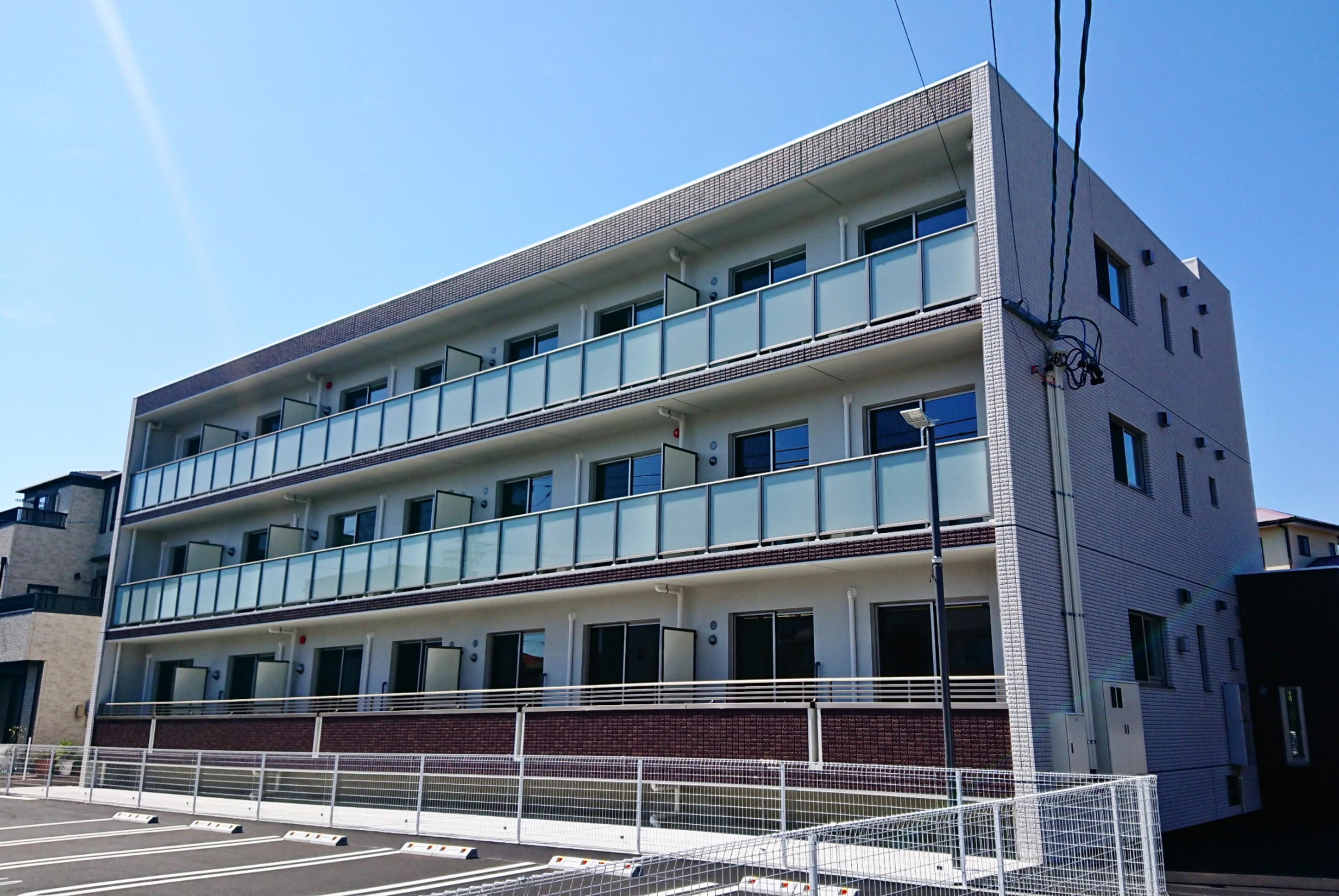 浜松市東区天竜川町「サンヒルズ浜松東」防犯カメラ設置