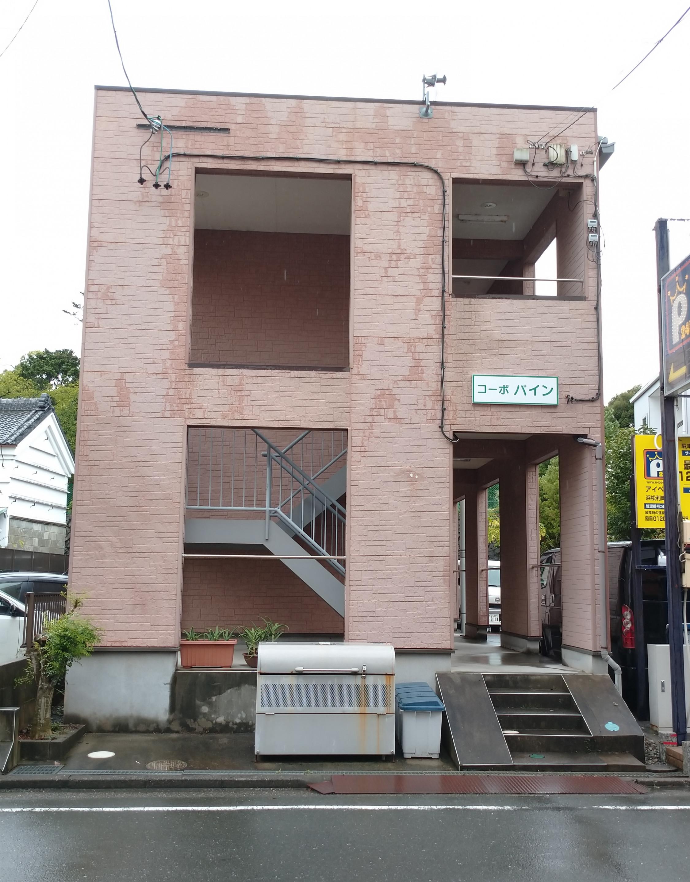 浜松市中区利町「コーポパイン 203号室」室内清掃         退去時のクリーニングはMAXメディエイトへ