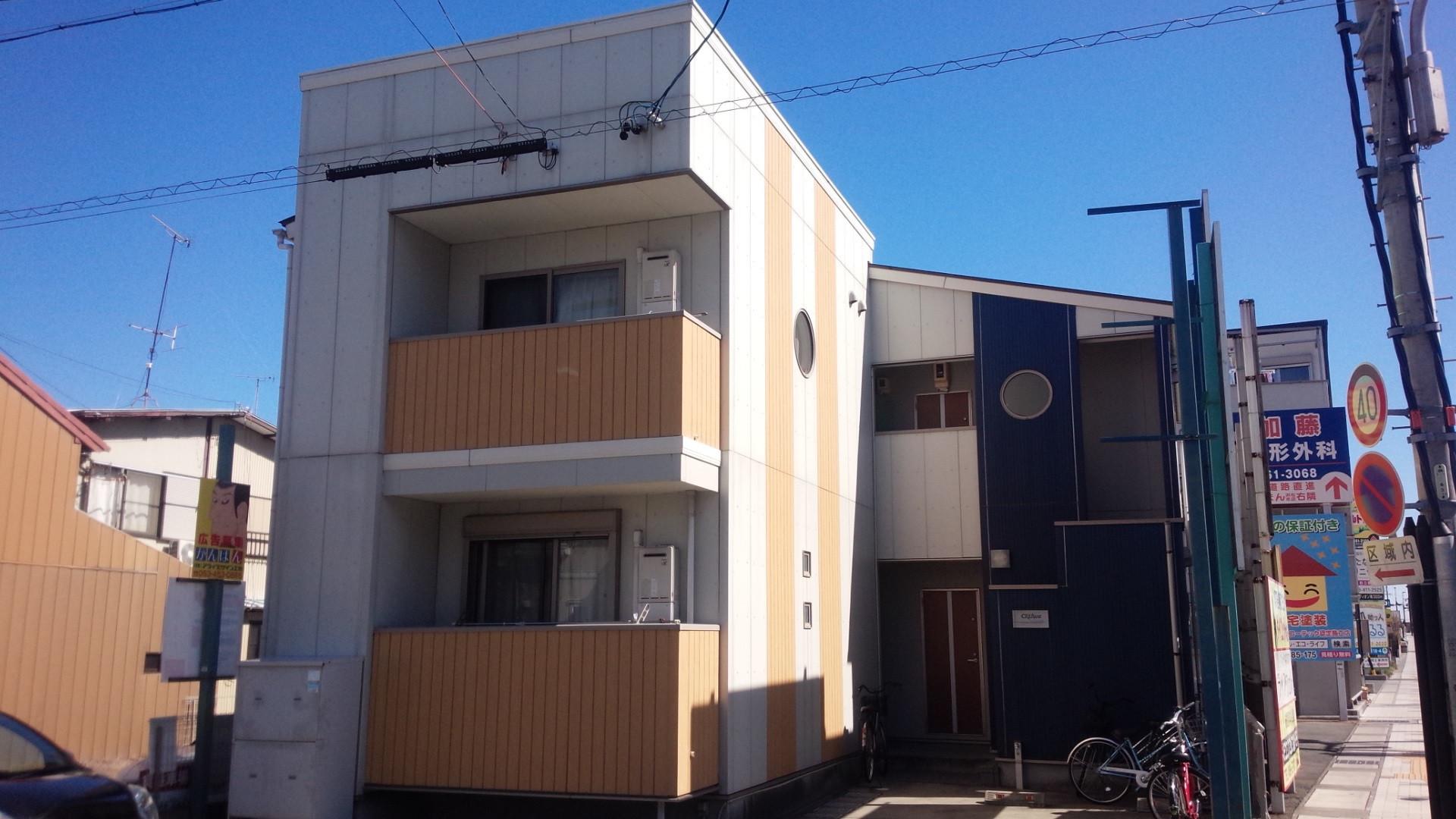 浜松市中区野口町「クレフラスト文芸大 101号室」原状回復工事     原状回復工事の事ならMAXメディエイト