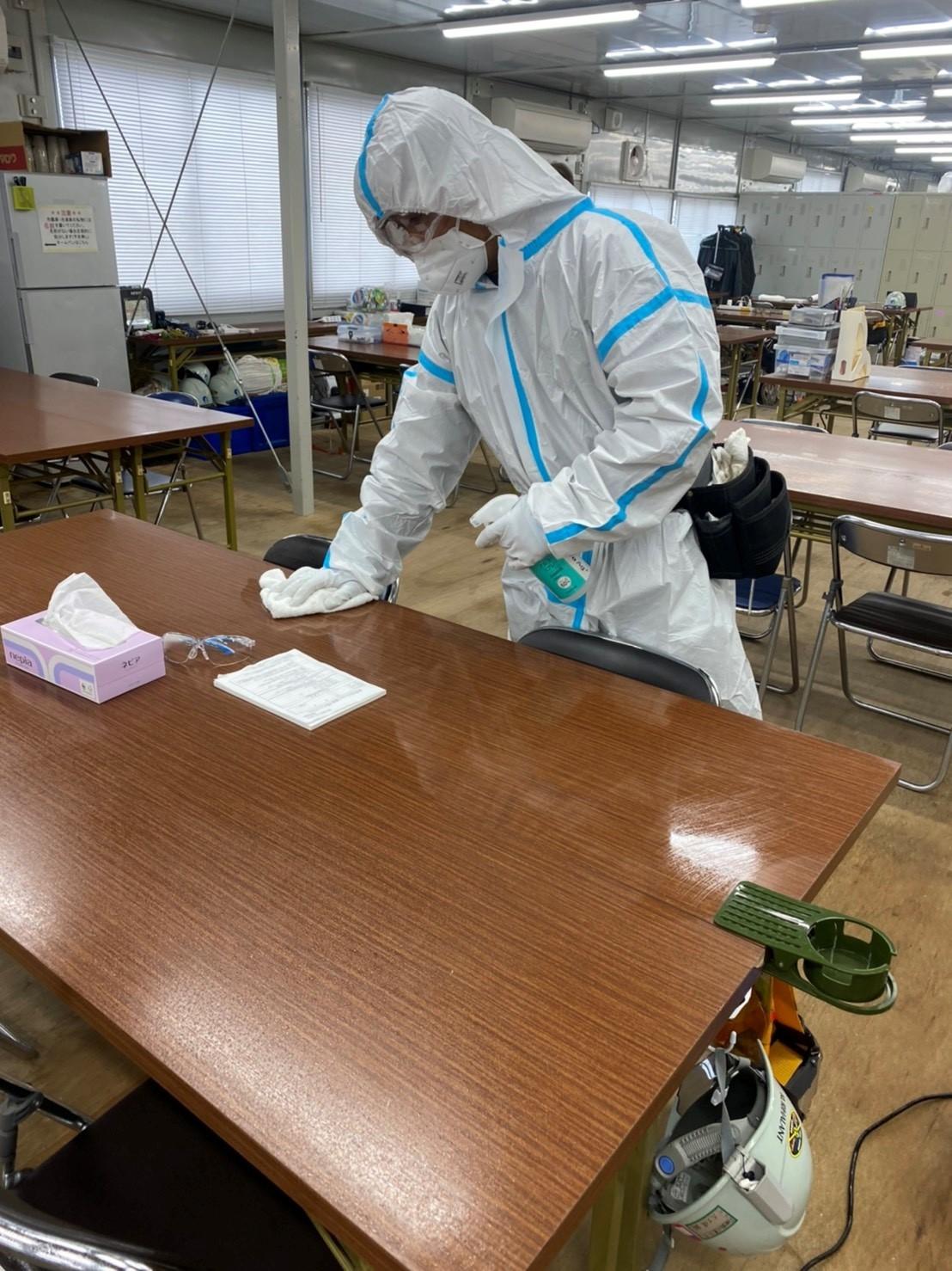 コロナ対策除菌消毒