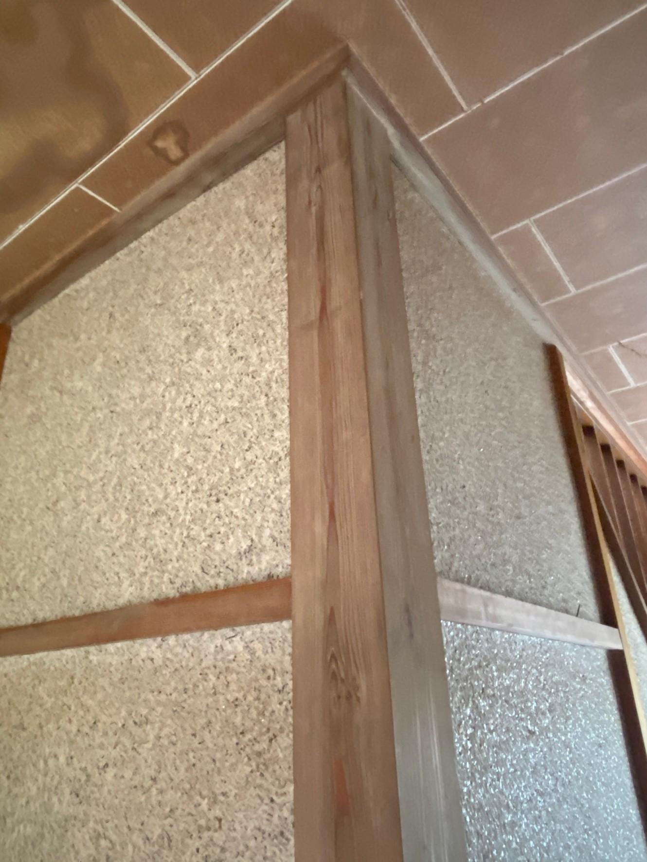 白木洗い住宅内