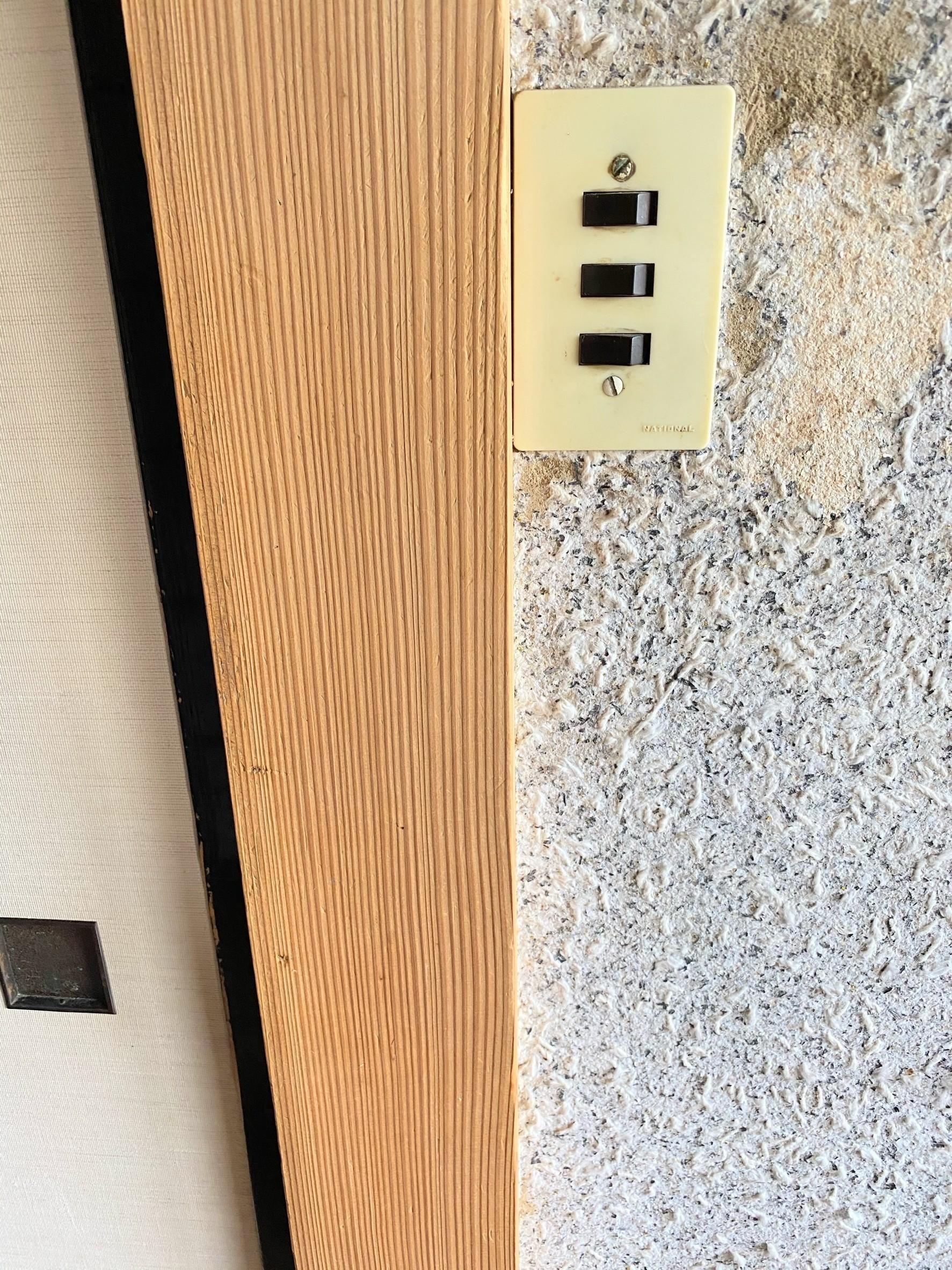 白木洗い住宅柱