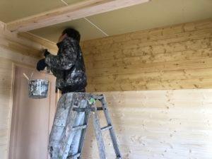 大阪府茨木市で木の家木部塗装画像8
