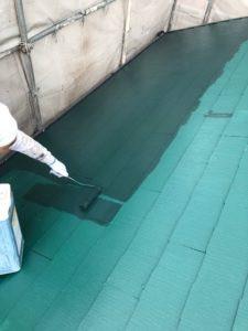 大和高田市で屋根の遮熱塗装をしました画像