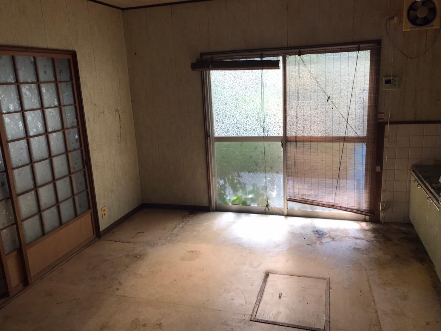 福山市 台所 お片付け 整理(別角度)