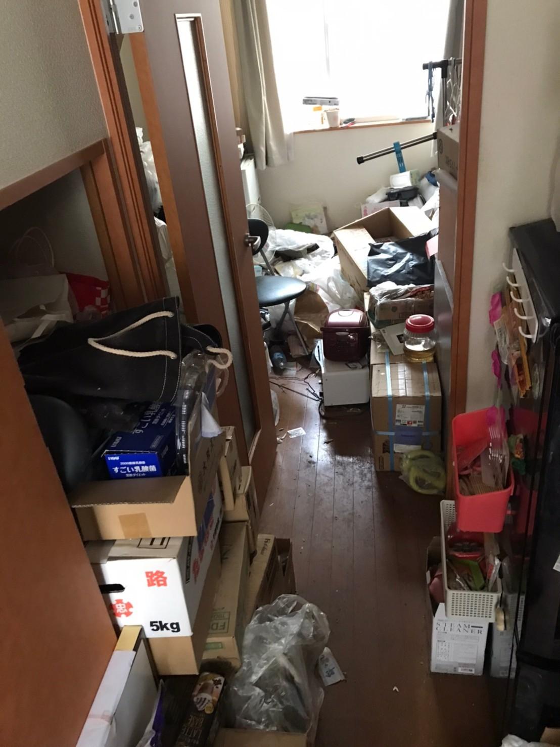 福山市 お片付け ゴミ屋敷整理Before