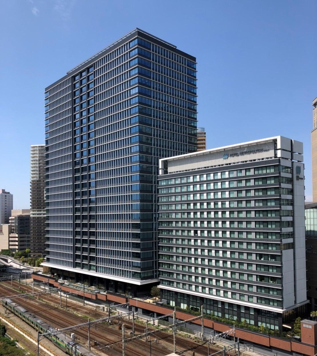 川崎駅西口開発計画新築工事のイメージ