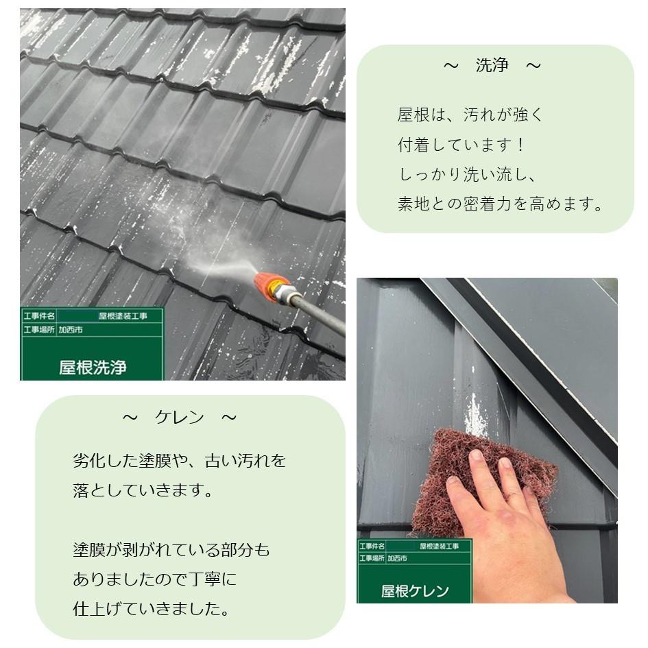 ガルバリウム素材★屋根塗装