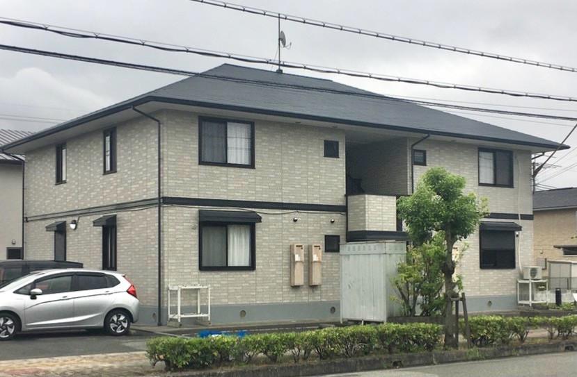 外壁・屋根塗装  ハイツアパート塗装