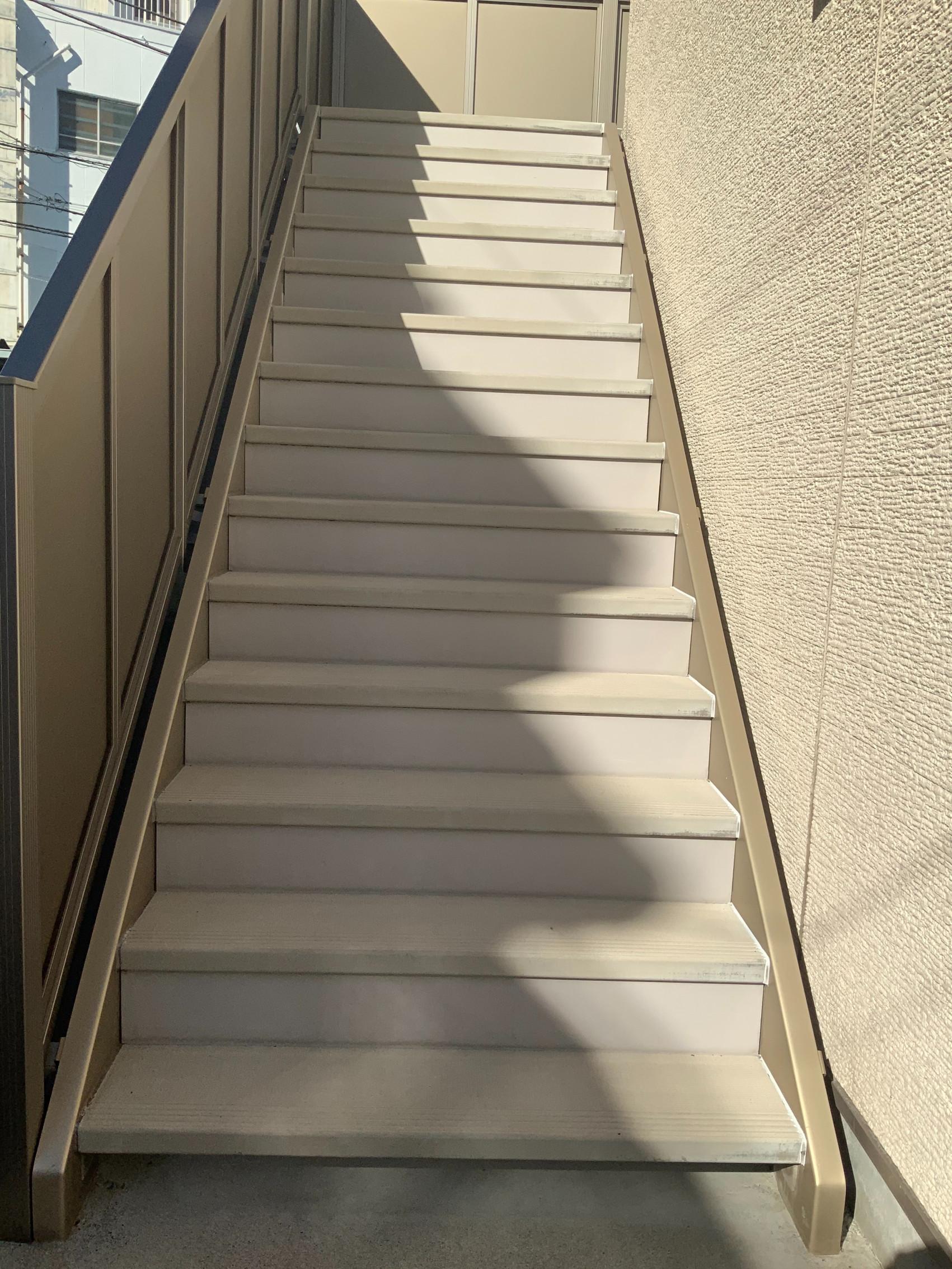 葛飾区 ケイエスホーム様 管理物件 階段改修