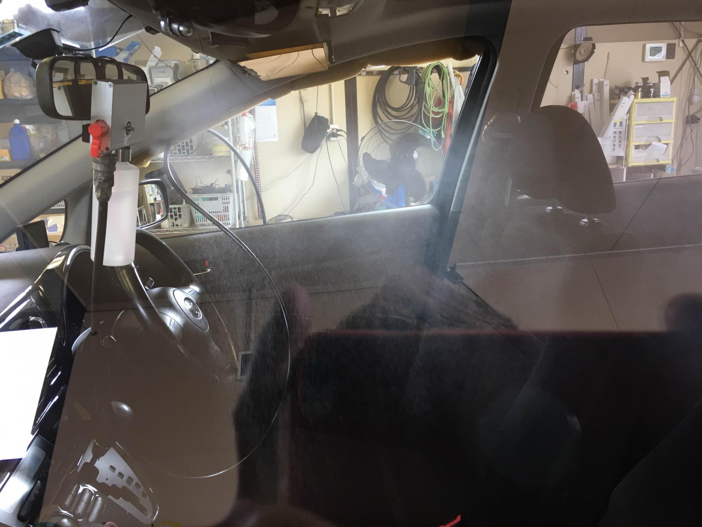 ウィッシュ『超撥水アワ手洗い洗車』『カーリフレッシュ』施工イメージ