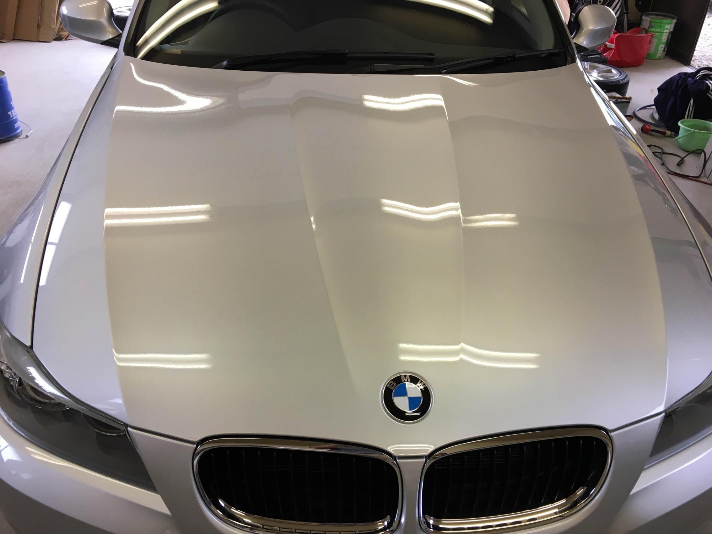 BMW ガラスコーティング施工イメージ