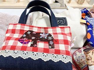 入園グッツ・巾着・バック・お子様ドレスの製作