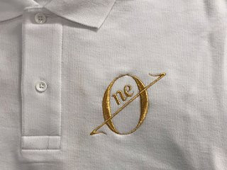 ポロシャツ刺繍