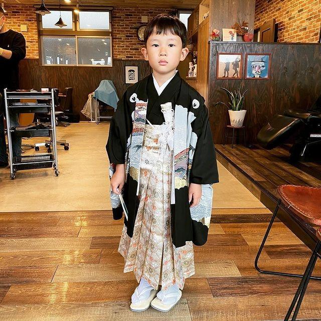 【男の子👦袴の着付け¥5000】