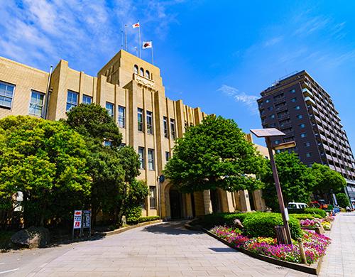 市議会臨時庁舎