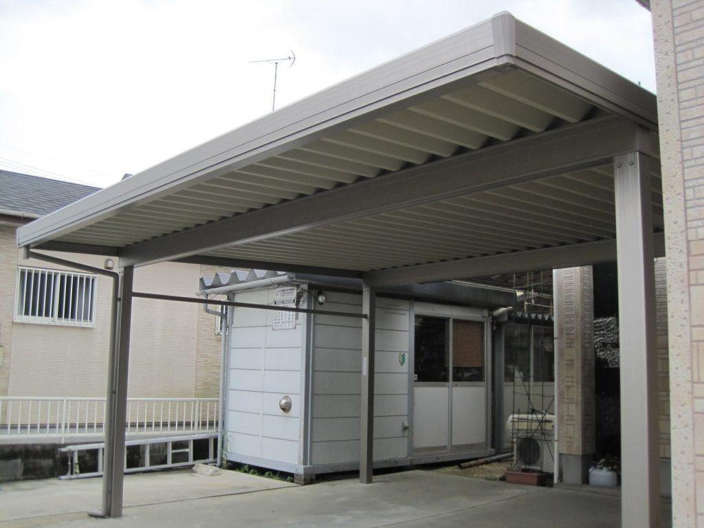 台風の強風にも耐えるカーポート「テリオスポートⅢ」