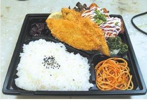 白身魚とタルタルチキン南蛮ランチ