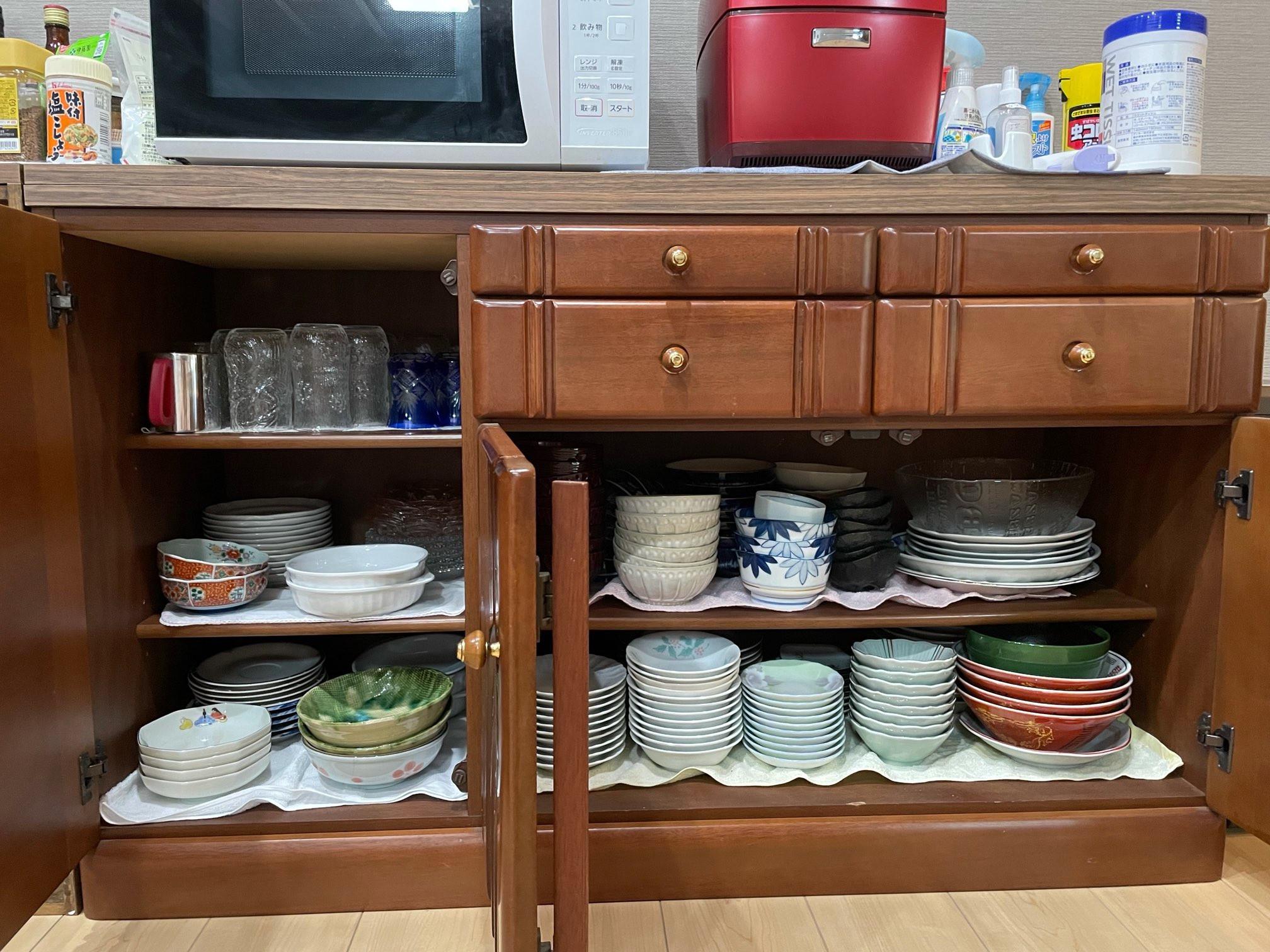各種食器類完備してあります。