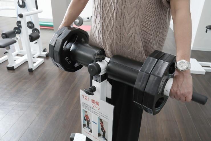 膝楽マシン