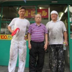 住之江区北加賀屋T様邸 店舗兼住宅ビル塗装工事完了!!!画像