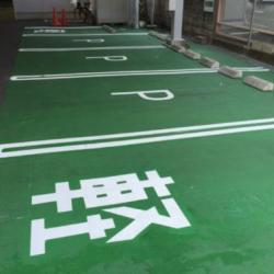 特殊な塗装   駐車場編!!!画像