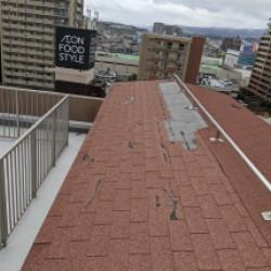 シングル屋根 補修画像
