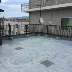 屋上 ウレタン塗膜防水画像