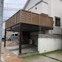 堺市 ガレージデッキ(2台用)画像
