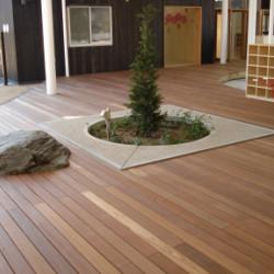 奈良県 幼稚園 ボードウォーク画像