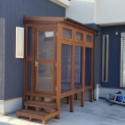 和泉市 木製サンルーム新設工事画像