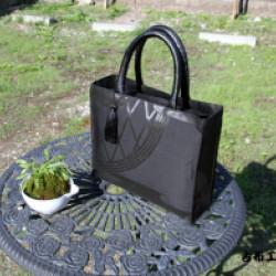 喪服帯のバッグ(オーダー)画像