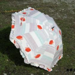 紬の日傘(オーダー)画像