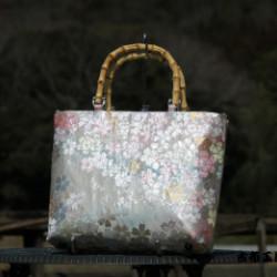 オーダーの帯バッグ画像
