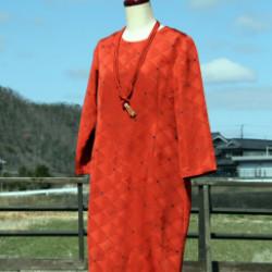 羽織のワンピース(オーダ)画像