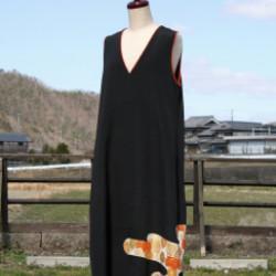 留袖のドレス(オーダ)画像