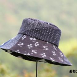 かすり布の帽子(作品No1133)画像