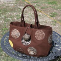 木綿で創ったバッグ(作品No1114)画像