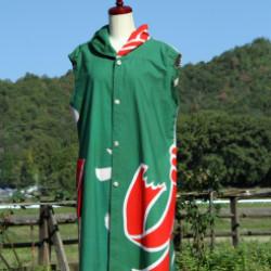大漁旗のロングベスト(作品No1145)画像