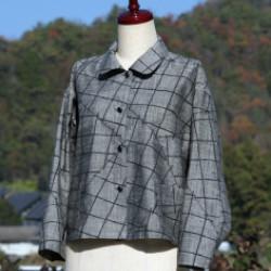 紬のジャケット(作品No1149)画像